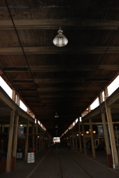 Roof over the station