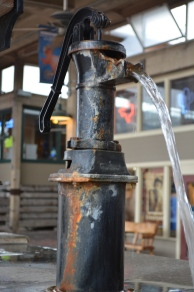 Water Pump at the fountain. I love this one too!